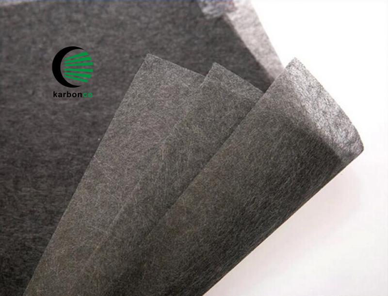 Carbon Tissue Carbon Fiber Mat Carbon Fiber Veil